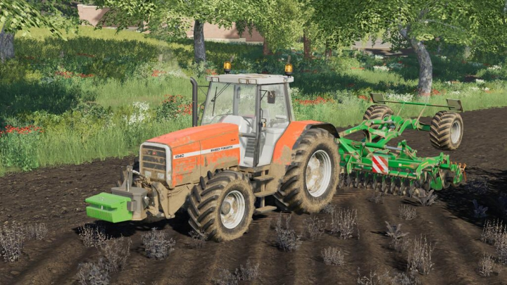 Tractors Massey Ferguson 8140 v1.0.0.0