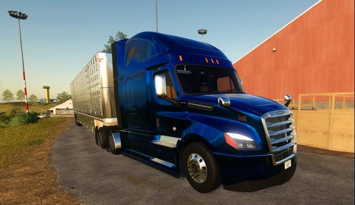 Trending mods today: Freightliner Cascadia P4