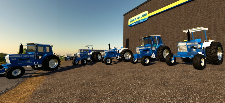 Ford 8600-9600 Pack V1.0 category: Tractors
