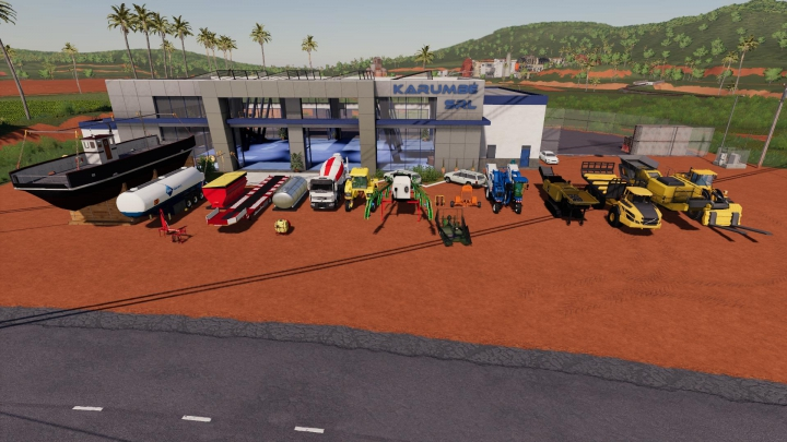 Trending mods today: FS19 MCE MACHINERY PACK v0.7