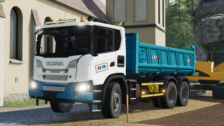Trucks Scania XT 6x4 1.0