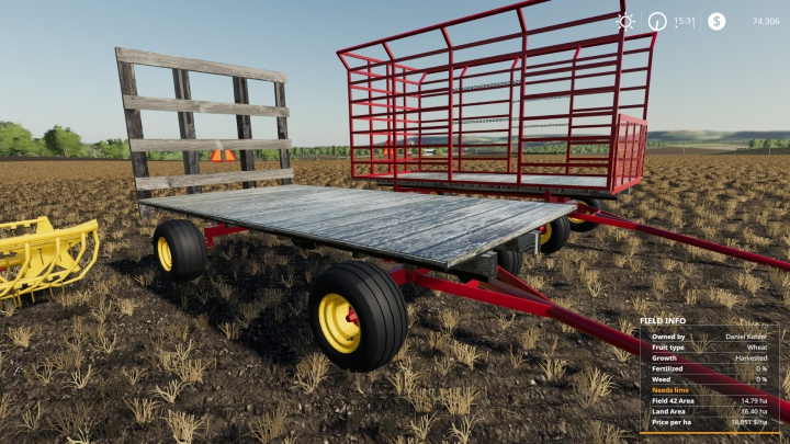 Autoload hay wagon  category: Trailers