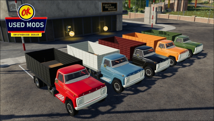 Trending mods today: Color Select - 1967 Ford F600 Grain V1C - By OKUSEDMODS