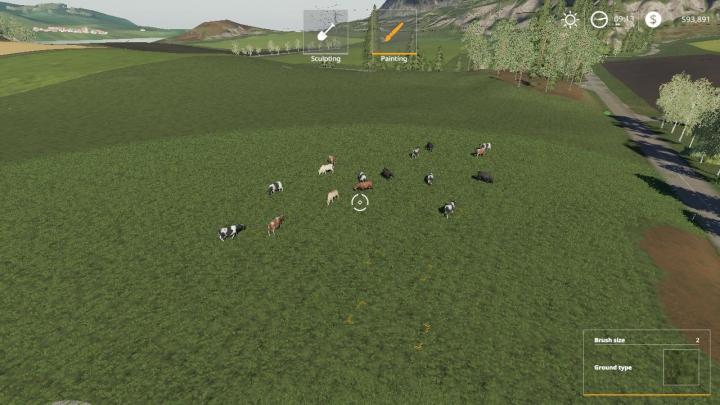 Trending mods today: FS19 Free Range Cows beta