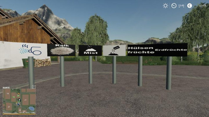 Trending mods today: Signs v1.3.1