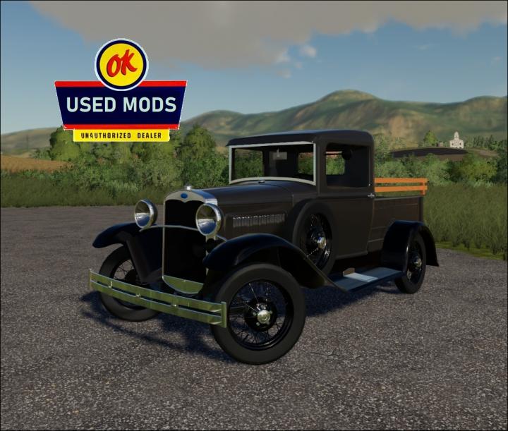 Trending mods today: 1930 Ford Model A Pickup - V1C - By OKUSEDMODS