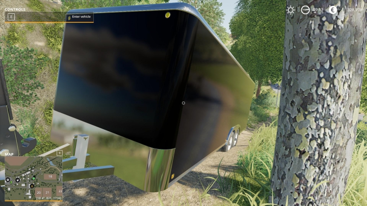 25FT Enclosed Trailer v1.0.0.0 category: Trailers