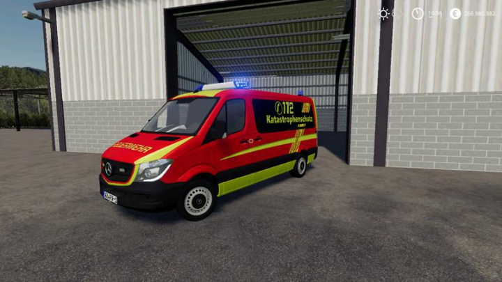Best mods from the day: Civil protection of the fire brigade v1.0.