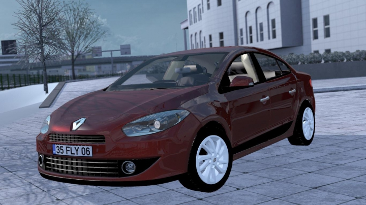 Renault Fluence V1R30 1.37 category: cars