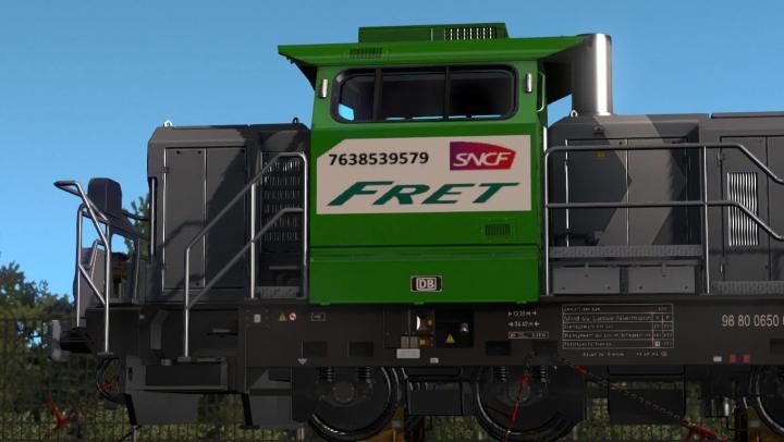 Locomotive sncf heavy carga pack v1.0 category: Skins