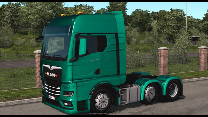 Trending mods today: Man TGX/GX 2020 1.37