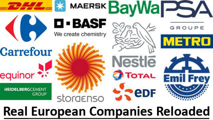 Real European Companies Reloaded 1.37 category: Skins
