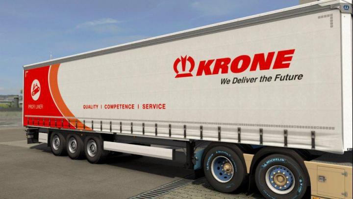 Trending mods today: Krone Profiliner Multicolor skin v1.0