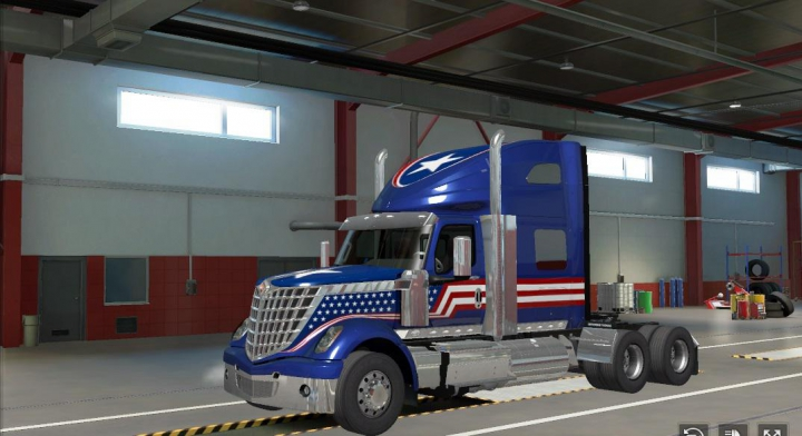 Trending mods today: American trucks for ETS2 1.37