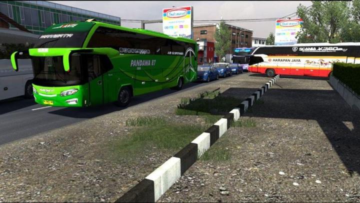 Trending mods today: Busses in Traffic Pack v2.7.1 by FPS & Ryzen 1.37.x