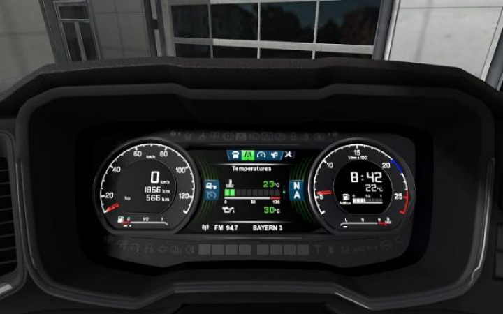 Scania S Dashboard Computer v1.5 for 1.37 FIXED category: Interiors
