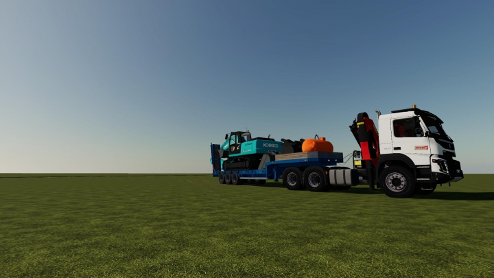 Best mods from the day: Volvo fmx 6x4 grue v1.0.