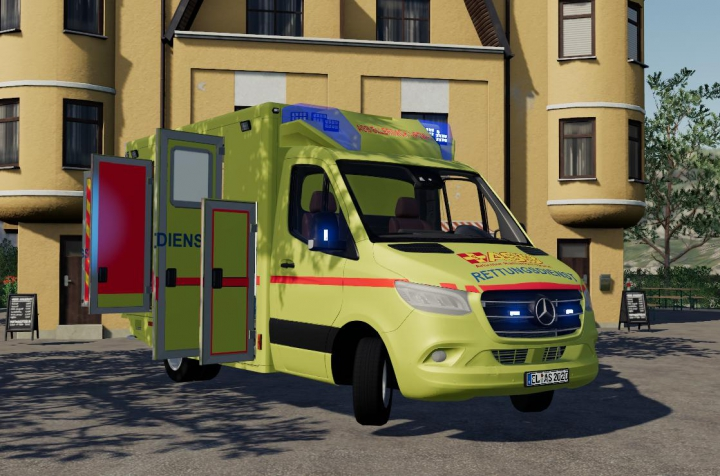 ASB Mercedes Sprinter RTW Skin v1.0 category: Cars