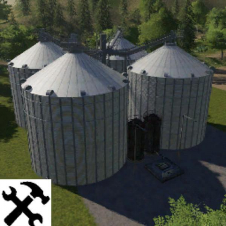 Trending mods today: Courtyard silos v3.5