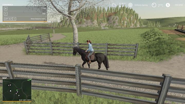 Trending mods today: FS19 Black Ranch Fencing v1.0