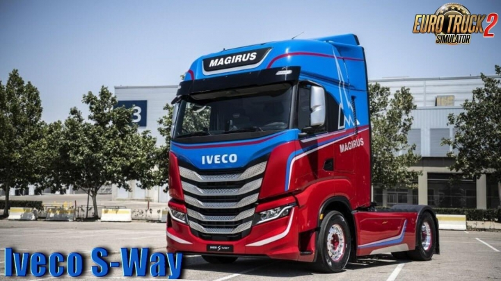 Trending mods today: Iveco S-Way 2020 + Interior v2.0 1.37