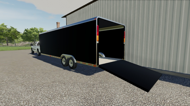 Other Load Trail Enclosed Lawn Care Trailer V1
