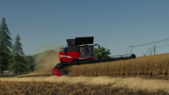Massey Ferguson Delta 9380 v1.0.0.0 category: Combines
