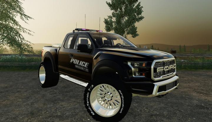 Trending mods today: 2017 Ford Raptor Police Edition v1.0