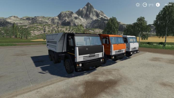 KamAZ-55111 Savok v2.0 category: Trucks