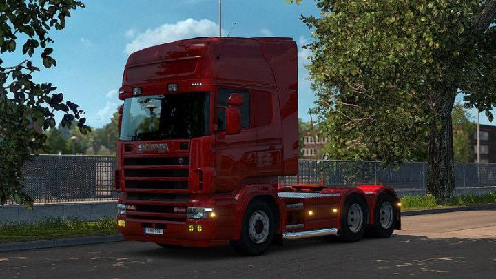 Trucks RJL Scanias Fix v1.3 for 1.37