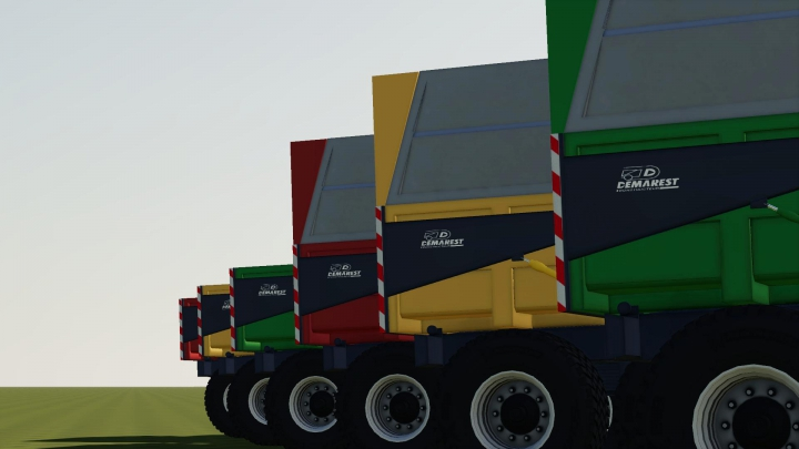 Trailers Demarest Tp 19t V2.0