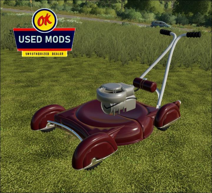 Trending mods today: Vintage Push Mower V1 -  By OKUSEDMODS