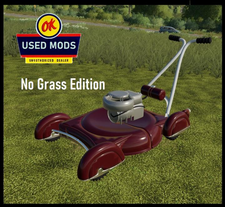 Trending mods today: Vintage Push Mower V1 - NO GRASS -  By OKUSEDMODS