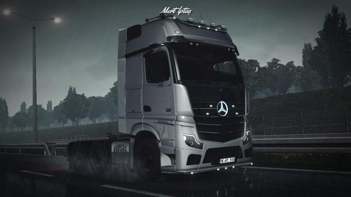 Trending mods today: Mercedes-Benz Actros MP5 2019 1.37