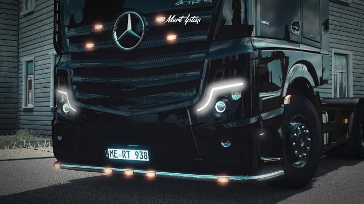 Trucks Mercedes-Benz Actros MP5 2019 1.37