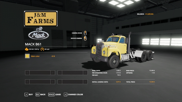 Trending mods today: The Mack B61 Semi