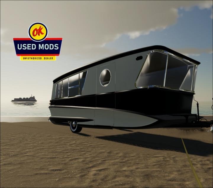 Trending mods today: Retro Camper Caravan V1 -  By OKUSEDMODS