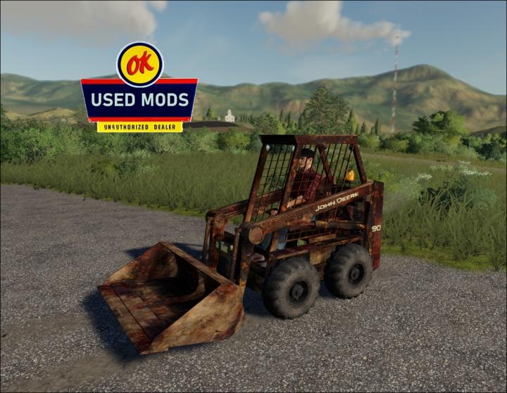 Trending mods today: JD90 Skid Steer - Rust Never Sleeps Edition V1 - By: OKUSEDMODS