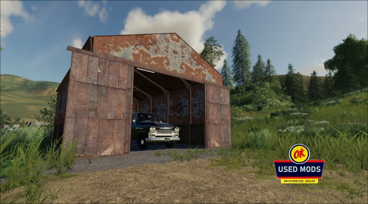 Trending mods today: Rusty Shed - Rust Never Sleeps Edition V1 - By: OKUSEDMODS