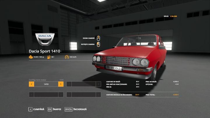 Trending mods today: Dacia 1410 Sport v1.0