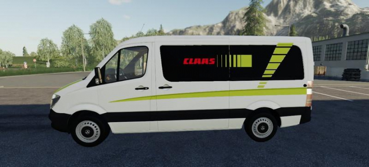 Trending mods today: Mercedes Sprinter CLAAS Service v1.5