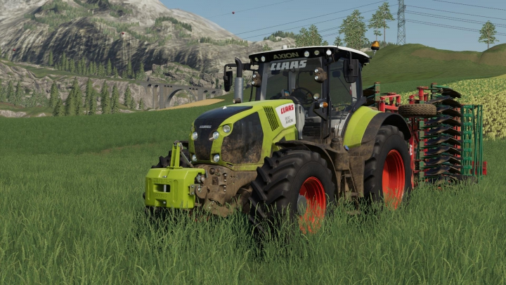 Trending mods today: Claas Axion 800 v1.1.0.0