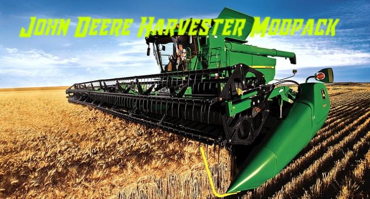 Trending mods today: John Deere Harvester Modpack