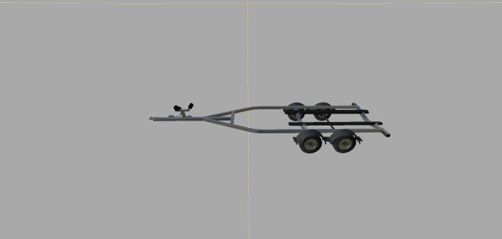 Trending mods today: Small boat trailer v1.0