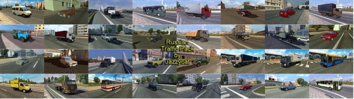 Trending mods today: Russian Traffic Pack by Jazzycat v2.9