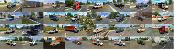 Other Russian Traffic Pack by Jazzycat v2.9
