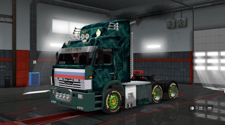 Trending mods today: Kamaz 54115 Turbo V8 1.37