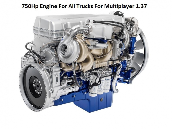 Trending mods today: 750Hp Engine For All Trucks For Multiplayer 1.37