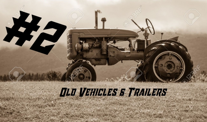 Trending mods today: Old vehicles & trailers Modpack #2