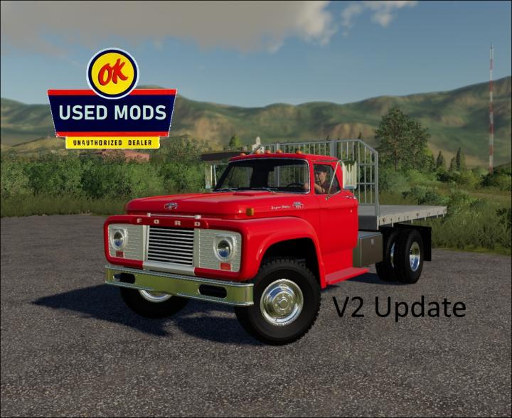 Trending mods today: 1964 Ford T850 FlatBed V2 -  By OKUSEDMODS